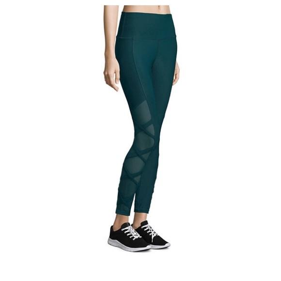b11e2e860f Xersion Pants   Lattice Strappy Mesh Workout Legging   Poshmark